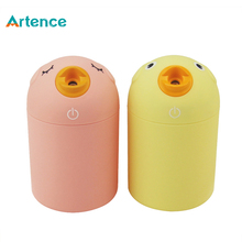 Adorable Bird Design 180ml USB Air Humidifier Baby Child Mini Aroma Diffuser Humidifier 3/8h Automatic Power Off(China)
