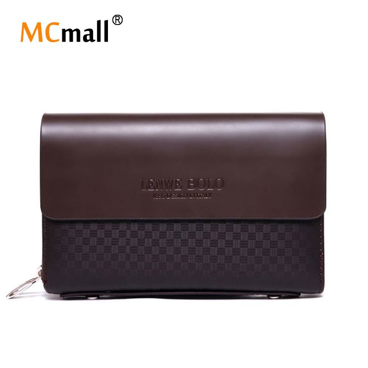 New Bags Wallets Mens Bbrand Wallets Double Zipper Design Long Wallet Mobile Phone Male Bag Leather Clutch Man bag OB-021<br><br>Aliexpress