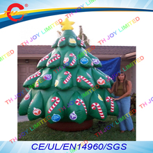free air shipping to door,13ft/4m outdoor giant large standing  inflatable christmas tree toys decoration