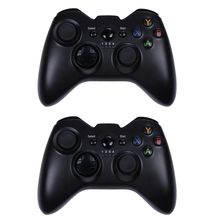 2.4GHz Wireless Bluetooth Game Controller Joypad Gamepad +Phone Holder+USB Bluetooth Receiver for PS3/360 XINPUT Platfrom(China)