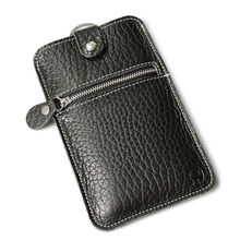 Vintage Genuine Leather Day Clutch Bags Cowhide Mobile Phone Bag Multi-purpose Change Pouch Men Women Protective Sleeve(China)