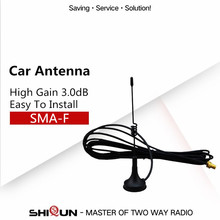 High Gain Vehicle Mounted Car Antenna For Quansheng Baofeng 888S UV-5R Two Way Radio Walkie Talkie Accessories