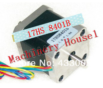 3pcs Nema17  stepper motor (Dual shaft) 78 Oz-in/48mm stepping motor/1.8A Nema 17HS8401B cnc<br><br>Aliexpress