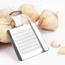 Stainless Steel Garlic Press Slicer Mini Convenient Ginger Garlic Crusher Chopper Grater Portable Outdoor Kitchen Tools Gadgets