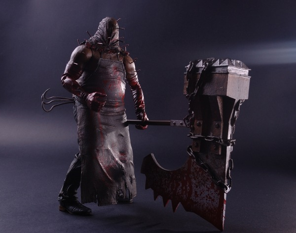 Free Shipping high quality  NECA Resident Evil 5 The axe murderers Zombie Sweeper PVC Action Figure 7RETAIL BOX<br><br>Aliexpress