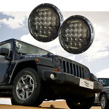 New Design 75W round High/Low Beam Auto headlight 7 INCH 5D LED Driving light for Jeep Wrangler JK CJ Hummer H1 H2(China)
