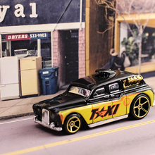 1:64 hot wheels TAXI classic cars Alloy car model Die-cast metal Children's toys Decoration Palm car Collection of toys(China)