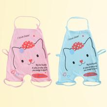 New lovely baby romper Summer cartoon cat pattern cotton baby jumpsuit kids coveralls Toddler infant clothes set XV2