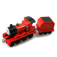 T0122 Diecast Magnetic THOMAS and friend The Tank Engine take along train metal children kids toy gift James & truck no package(China)