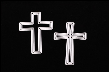 Cross Metal Cutting Dies Stencil DIY Scrapbooking Decorative Craft Photo Album Embossing Folder Paper Crad
