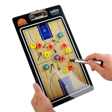 Basketball tactics plate magnetic teaching board Basketball tactical exercises Coach tactical command for straight GYH