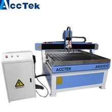 Jinan AccTek best selling woodworking 1212 cnc router with CEISO certifications for furniture advertising(China)