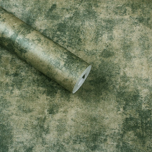 Dark Green Vintage Wallpaper Roll  papel de parede  home decorative walls solid<br>