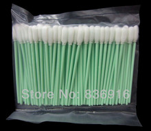 1000 pcs Small  Sponge Foam Tipped Cleaning Swabs Water Solvent Inkjet Printer Mimaki Roland Mutoh Swab manufacturer ( IN STOCK)