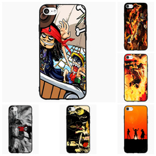 One Piece Luffy Shanks For Samsung Galaxy S Note 3 4 5 6 7 Edge Active Mini Cell Phone Cases Cover Shell Accessories Decor Gift(China)