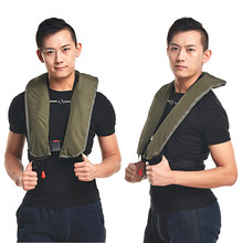 HWYHX YHX2016 NEW arrival  Automatic Inflatable Life Jacket 5 Seconds Quick Inflate And Produce Above 15kg Buoyancy Life Vest