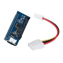 Good Sale 40-Pin IDE Female To SATA 7+15Pin 22-Pin Male adapter PATA TO SATA Card Drop Shipping May 26