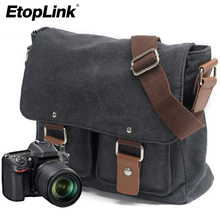 Canvas SLR Camera Bag National Geographic Photography SLR Camera Bag for Canon for Nikon for Sony Micro Messenger Shoulder Bag