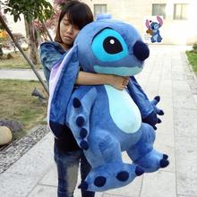 Hot sale real Picture! 35'' / 90cm Jumbo Giant Stuffed Soft Plush Cute Stitch Toy, Nice Gift Christmas