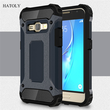 HATOLY For Samsung Galaxy J1 2016 Case J120F Silicone Rubber Armor Phone Cover For Samsung Galaxy J1 Case For Samsung J1 2016 #<