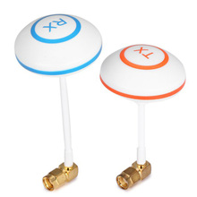 New FPV 5.8 GHz Antenna Remote Control Drone Aparts Clover Leaf Mushroom Aerial Set with L Style RP-SMA Plug for RC Helicopter