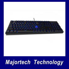 SteelSeries Apex M500 Blue Backlit Cherry MX Red Switches NK Rollover Mechanical Gaming Keyboard