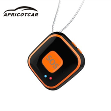 Mini Portable Waterproof GPS Tracker Elderly Children Pet Real Time Necklace Tracker SOS Alarm Voice Timekeeping Standby Locator