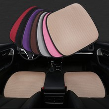Universal Ultrathin Antiskid Lce Silk Auto Car Office Chair Seat Cover Pad Protector Mat Car-styling Automobiles Accessories cap