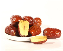 new arrival very sweet and delicious dried fruit Xinjiang red dates green food for health red Jujube date 500g