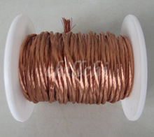 0.2X60 shares beam light strands twisted copper Litz wire Stranded round copper wire(China)