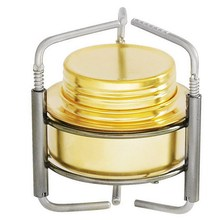 BBQ Outdoor Camping Hiking Equipment Titanium Mini Liquid Alcohol Stove Ultralight Portable Titanium Stove T0.35