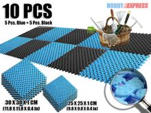 New 1 pack of Anti Slip Home Plastic Floor Mat 25 x 25 cm OR 30 x 30 cm KK1128 2 Color Combination