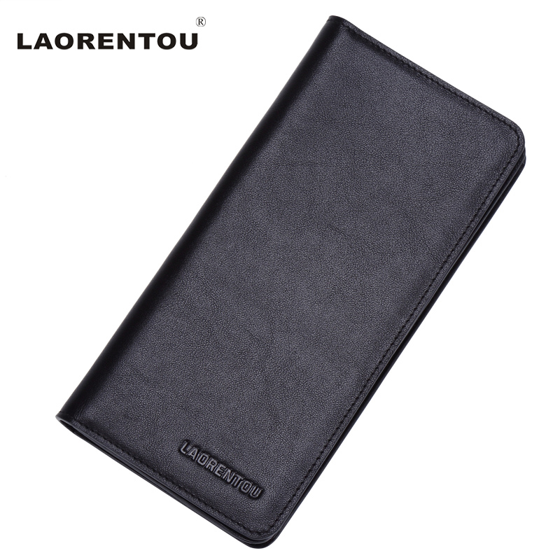 Laorentou 2016 Long Style Men Wallet Top Grade Soft Leather With Card Slot For Business Men Wallet Leather Clutch Bags N57<br><br>Aliexpress
