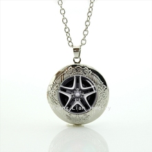 2017 New Collares Charming Jewelry Spinning Rim Wheel Tir Auto Parts Car Drivers Driving-best Man Picture Locket Necklace T806