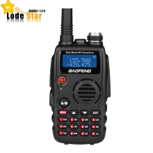 BaoFeng A52 BF-A52 Two Way Radio 5W Dual Band VHF/UHF 136-174/400-470MHZ Portable Walkie Talkie FM Transceiver CB Radio telsiz(China)