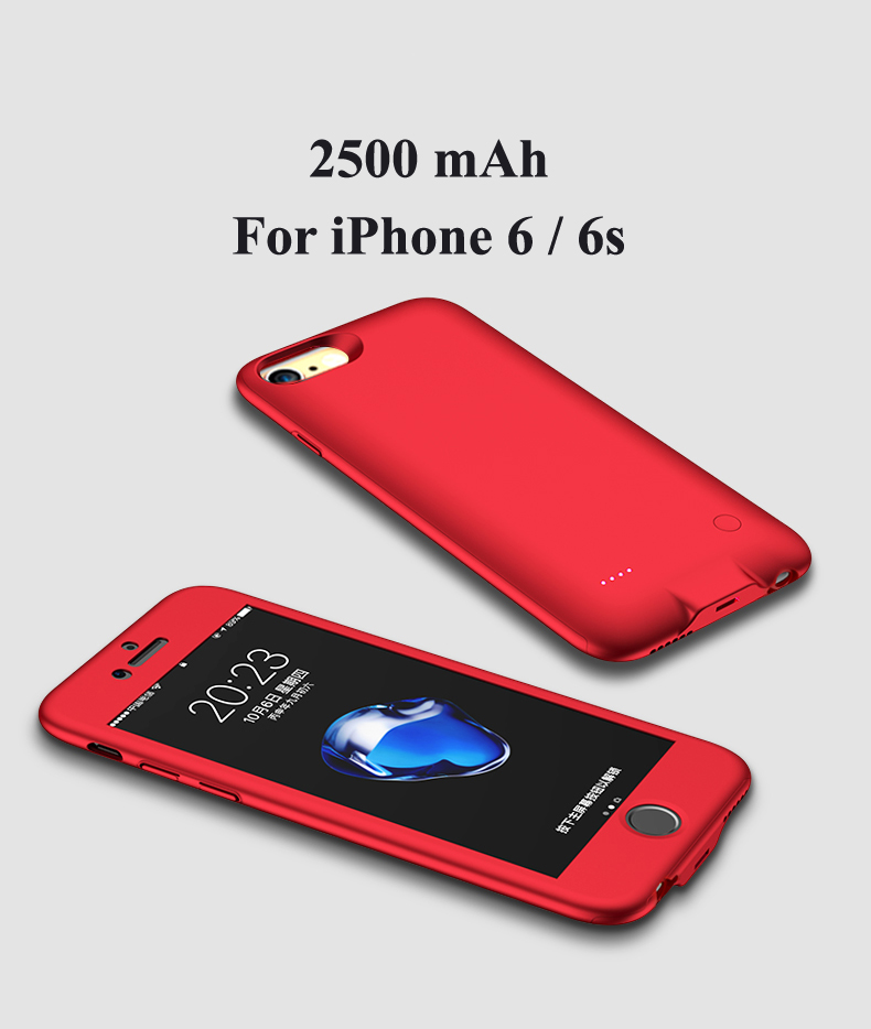 Battery Charger Cases For iPhone 6 6s NH-B012 Details (06) External Backup Ultra Slim Portable Bateria Cover