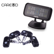 CAREUD U903 TPMS Tire Pressure Monitoring System With 4 Intern Sensor Cigarette Power Supply for All Cars Car Electronics TPMS