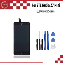 ocolor For ZTE Nubia Z7 mini LCD Display+Touch Screen Screen Digitizer Assembly Replacement For ZTE Nubia Z7 Mini NX507J(China)