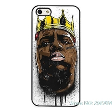Biggie Smalls Notorious BIG Art  cell Phone Case Cover For iPhone 4S 5 5S SE 5C 6 6S Plus 7 7Plus Samsung Galaxy S5 S6 S7