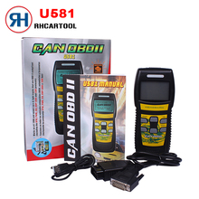 New Car Styling Original Memoscan U581 OBD2 Car Engine Fault Diagnostic Scanner CAN BUS Scan Tool Code Reader Diagnostic Scanner