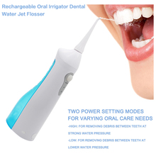 Professional Rechargeable Oral Irrigator Water Flosser Irrigation Dental Floss Family Whitening Cleaning Mouth Denture Cleaner(China)