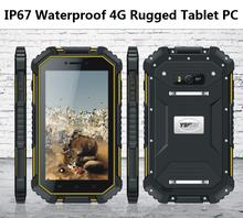 "Top china brand mini PC Android outdoor tablet PAD IP67 waterproof mobile phone quad core 4G LTE 7"" inch 8MP2GB 16GB netbook T70"