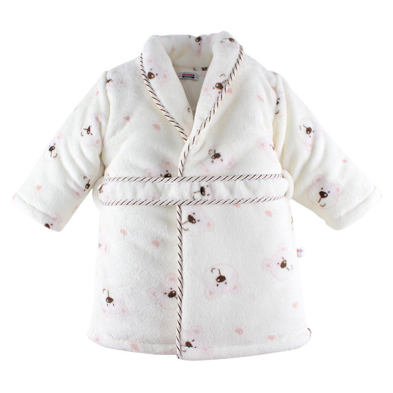 Childrens Clothing Thick Sleepwear Robe Warm Robes Pure Cotton Coats Chinese Brand Kids Girls Boys Newborn Clothes Lifestyle<br><br>Aliexpress