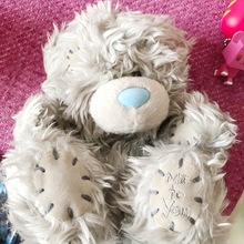Cute Me To You Romantic Love Gray Bear Stuff Plush Toy Doll Children Birthday Gift