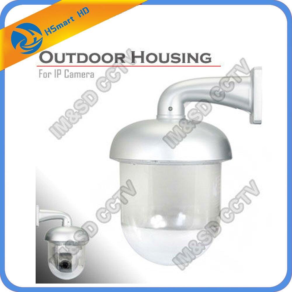 New Hot Outdoor Waterproof Dome Housing Enclosure for Security CCTV Wireless 1080P HD IP Pan Tilt Mini WIfi ir ip cameras<br>