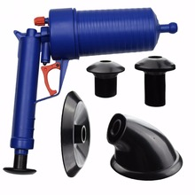 Mayitr High Pressure Toilet Floor Drain Canalisation Air Power Plunger Blaster Pump Cleaner Home Cleaning Tools