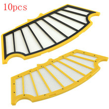 10pcs Hepa Filter for iRobot Roomba 500 Series 510 530 535 540 550 560 570 580 Vacuum Cleaner Parts Wholesale New(China)