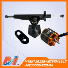 Maytech FREE SHIPPING for electric surfboard mount and rc back truck and 5055 220kv sensored e scooter motor(China)