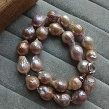 Edison zou skin baroque abnormity strange color natural freshwater pearls big pearl about 13 * 18 mm