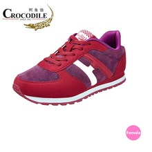Crocodile New Autumn Women Baseball Shoes Outdoor Stabile Jogging Shoes Sneakers Lace Up Women Breathable Sport Shoes NO.5325980(China)